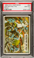 Non-Sport Cards:Singles (Post-1950), 1962 Topps Civil War News #82 PSA Gem MT 10. ...