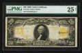 Large Size:Gold Certificates, Fr. 1185 $20 1906 Gold Certificate PMG Very Fine 25 Net.. ...