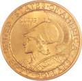 Commemorative Gold, 1915-S $50 Panama-Pacific 50 Dollar Round MS63 NGC. CAC....