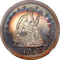 Proof Seated Quarters, 1878 25C PR67 Ultra Cameo NGC. Briggs 4-D....