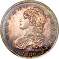 Proof Bust Half Dollars, 1836 50C Lettered Edge PR64 NGC. O-109, High R.7 as a Proof....