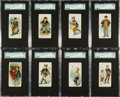 "Non-Sport Cards:Sets, 1889 N88 Duke ""Terrors of America"" Partial Set (40/50). ..."