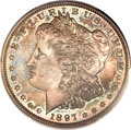 Proof Morgan Dollars, 1897 $1 PR66 PCGS. CAC....