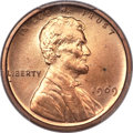 Proof Lincoln Cents, 1909 1C Lincoln Cent VDB PR64 Red PCGS. CAC....
