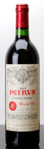 Red Bordeaux, Chateau Petrus 1983 . Pomerol. lbsl, gsl, lnl, lcc, nc.Bottle (1). ... (Total: 1 Btl. )