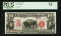 Large Size:Legal Tender Notes, Fr. 120 $10 1901 Legal Tender PCGS About New 53.. ...