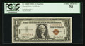Small Size:World War II Emergency Notes, Fr. 2300* $1 1935A Hawaii Silver Certificate. PCGS Choice About New 58.. ...