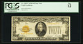 Small Size:Gold Certificates, Fr. 2402* $20 1928 Gold Certificate. PCGS Fine 12.. ...