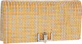 Luxury Accessories:Bags, Tiffany & Co Stunning 18K Yellow Gold, White Gold & RoseGold Minaudiere Evening Bag with 1.96 Total Ct Diamond Clasp. ...