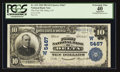 National Bank Notes:Colorado, Delta, CO - $10 1902 Plain Back Fr. 633 The First NB Ch. # (W)5467....