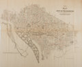 Miscellaneous:Maps, [Map]. City of Washington....