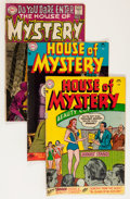 Silver Age (1956-1969):Horror, House of Mystery Group (DC, 1955-70) Condition: Average GD....(Total: 22 Comic Books)