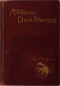 Books:Sporting Books, George Bird Grinnell. American Duck Shooting. Forest andStream, 1901. Later impression. Publisher's cloth with ...