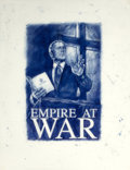 Post-War & Contemporary:Contemporary, ANDREI MOLODKIN (Russian, b. 1966). Empire at War (study).Ballpoint pen on vellum. 25-1/2 x 19-1/2 inches (64.8 x 49.5 ...