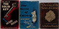 Books:Mystery & Detective Fiction, Anthony Boucher. Group of Three Books, Two First Edition, FirstPrinting. Various publishers, 1937-1954. One copy of Seven...(Total: 3 Items)