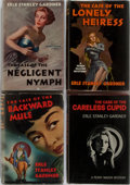 Books:Mystery & Detective Fiction, Erle Stanley Gardner. Group of Four First Edition, First PrintingBooks. Morrow, 1946-1968. Negligent Nymph may be ex-li...(Total: 4 Items)