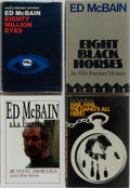 Books:Mystery & Detective Fiction, Ed McBain. Group of Four First Edition, First Printing Books, OneInscribed. Various publishers, 1966-2000. Running from L...(Total: 4 Items)
