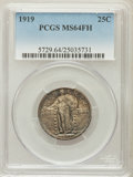Standing Liberty Quarters: , 1919 25C MS64 Full Head PCGS. PCGS Population (166/179). NGCCensus: (117/120). Mintage: 11,324,000. Numismedia Wsl. Price ...