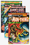 Bronze Age (1970-1979):Horror, Man-Thing Group (Marvel, 1973-80) Condition: Average FN/VF....(Total: 28 Comic Books)
