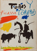 Books:Art & Architecture, Pablo Picasso. Toros y Toreros. Abrams/Editions Cercled'Art, 1961. First American edition, first printing. Publ...
