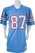 Football Collectibles:Uniforms, 1980-81 Dave Casper Game Worn Houston Oilers Jersey. ...