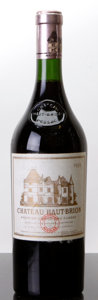 Red Bordeaux, Chateau Haut Brion 1959 . Pessac-Leognan. bsl, fl, sdc,Recondioned at the Chateau in the 80s, verified by Haut Brion vi...(Total: 1 Btl. )