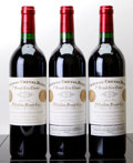 Red Bordeaux, Chateau Cheval Blanc 2000 . St. Emilion. Bottle (3). ...(Total: 3 Btls. )