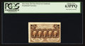 Fractional Currency:First Issue, 25¢ First Issue Cardstock Proof PCGS Choice New 63PPQ.. ...