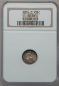 Seated Half Dimes: , 1854-O H10C Arrows AU58 NGC. NGC Census: (13/57). PCGS Population(6/35). Mintage: 1,560,000. Numismedia Wsl. Price for pro...