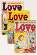 Golden Age (1938-1955):Romance, True Love Problems and Advice Illustrated File Copy Group (Harvey,1949-58) Condition: Average VF.... (Total: 51 Comic Books)