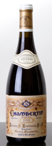 Red Burgundy, Chambertin 1990 . A. Rousseau . lnl. Bottle (1). ... (Total:1 Btl. )
