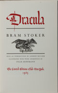 Books:Horror & Supernatural, [Limited Editions Club]. Bram Stoker. SIGNED/LIMITED. Dracula. LEC, 1965. Limited to 1500 numbered copies, signed ...