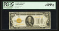 Small Size:Gold Certificates, Fr. 2405 $100 1928 Gold Certificate. PCGS Very Fine 30PPQ.. ...