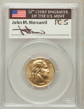 Modern Issues, 1999-W G$5 Washington Gold Five Dollar MS70 PCGS. Ex: Signature ofJohn M. Mercanti, 12th Chief Engraver of the U.S. Mint. ...