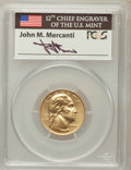 Modern Issues, 1999-W G$5 Washington Gold Five Dollar MS69 PCGS. Ex: Signature ofJohn M. Mercanti, 12th Chief Engraver of the U.S. Mint. ...