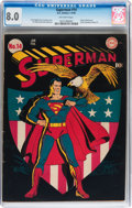 Golden Age (1938-1955):Superhero, Superman #14 (DC, 1942) CGC VF 8.0 Off-white pages....