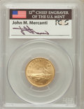 Modern Issues, 1995-W G$5 Olympic/Stadium MS70 PCGS. Ex: Signature of John M.Mercanti, 12th Chief Engraver of the U.S. Mint. PCGS Populat...