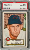 Baseball Cards:Singles (1950-1959), 1952 Topps Joe Adcock #347 PSA NM-MT 8....