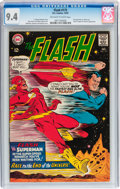 Silver Age (1956-1969):Superhero, The Flash #175 (DC, 1967) CGC NM 9.4 Off-white to white pages....