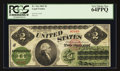 Large Size:Legal Tender Notes, Fr. 41a $2 1862 Legal Tender PCGS Very Choice New 64PPQ.. ...