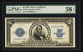 Large Size:Silver Certificates, Fr. 282 $5 1923 Silver Certificate PMG Choice About Unc 58 EPQ.. ...