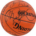 """Basketball Collectibles:Balls, 1992 Summer Olympics """"Dream Team"""" Signed Basketball - One of theNicest Ever Offered! ..."""