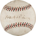 "Autographs:Baseballs, Circa 1930 Lewis ""Hack"" Wilson Single Signed Baseball...."