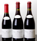 Red Burgundy, Vosne Romanee. Les Beaux Monts, Leroy . 1990 crc, missingcapsule Bottle (1). 2002 Bottle (2). ... (Total: 3 Btls. )