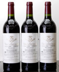 Spain, Vega Sicilia Unico 1994 . 3lbsl, 1lnl, #005792, 005794, 005809.Bottle (3). ... (Total: 3 Btls. )