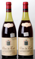 Red Burgundy, Clos de Tart 1978 . Mommessin . 2(4cm). Bottle (2). ...(Total: 2 Btls. )