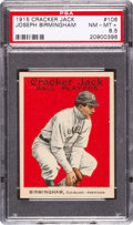 Baseball Cards:Singles (Pre-1930), 1915 Cracker Jack Joseph Birmingham #106 PSA NM-MT+ 8.5. ...