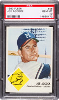 Baseball Cards:Singles (1960-1969), 1963 Fleer Joe Adcock #46 PSA Gem Mint 10 - Pop Two, None Higher!...