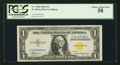 Small Size:World War II Emergency Notes, Fr. 2306 $1 1935A North Africa Silver Certificate. PCGS Choice About New 58.. ...
