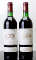 Red Bordeaux, Chateau Margaux 1982 . Margaux. 1bn. Bottle (2). ... (Total:2 Btls. )